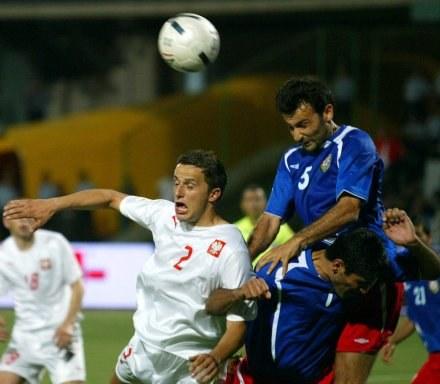 Dariusz Dudka wyróżnił się w ostatnich meczach kadry /AFP