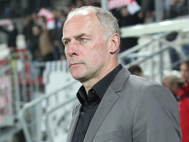 Dariusz Pasieka, trener Cracovii/fot. Jacek Bednarczyk /PAP
