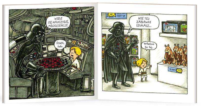 Darth Vader i syn /materiały prasowe
