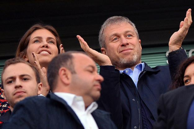 Dasza Żukowa i Roman Abramowicz /AFP