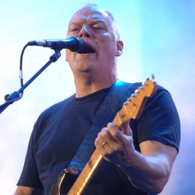Dave Gilmour (Pink Floyd) /arch. AFP