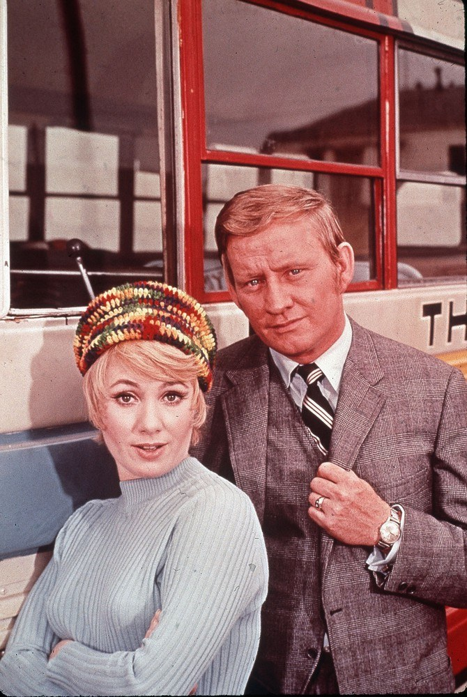 """Dave Madden w serialu """"The Partridge Family"""" /Mary Evans Picture Library /East News"""