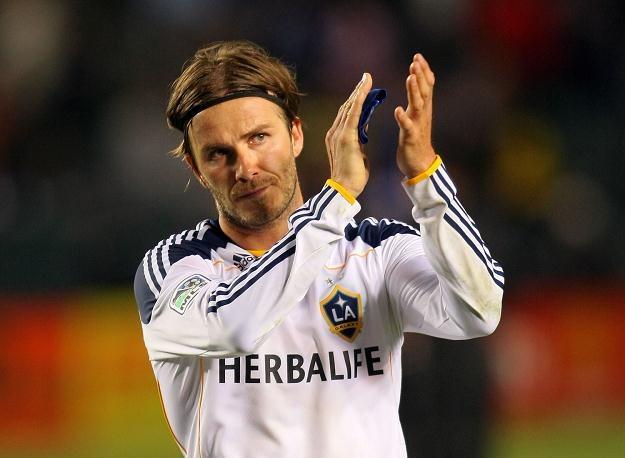 David Beckham nie narzeka na brak ofert /AFP