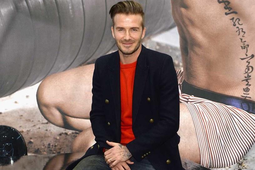 David Beckham ostatnio reklamuje bieliznę marki H&M /Getty Images