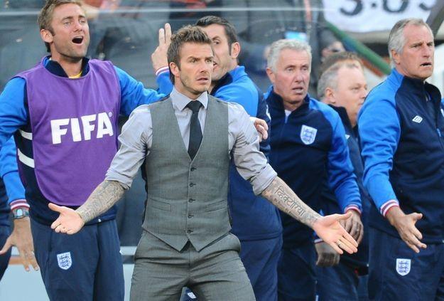 David Beckham, piłkarz Los Angeles Galaxy /AFP