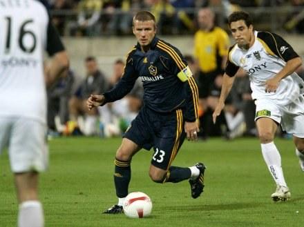 David Beckham podbił Nową Zelandię /AFP