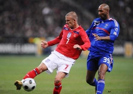 David  Beckham rozegrał swój setny mecz w reprezentacji /AFP