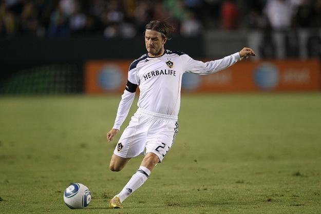 David Beckham wciąż gra w Los Angeles Galaxy. /AFP