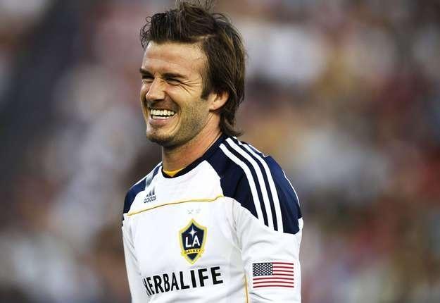 David Beckham /AFP