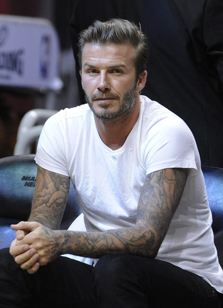 David Beckham / 	RHONA WISE    /PAP/EPA