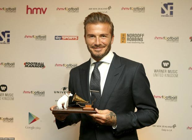 David Beckham /Steve Parsons    /East News