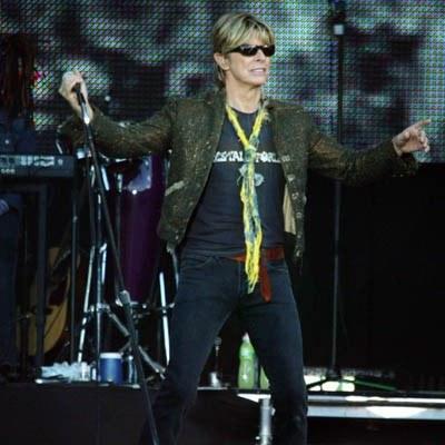 David Bowie /arch. AFP