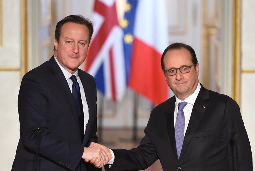 David Cameron i Francois Hollande /AFP