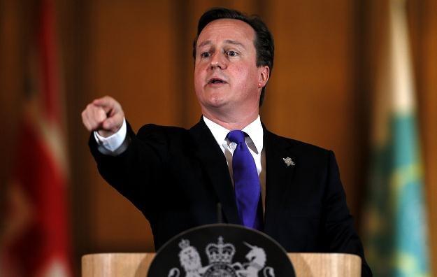 David Cameron miał problem z przypomnieniem sobie, gdzie kupił swojego ostatniego pasty /AFP