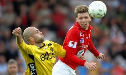 David Elm - nowy szwedzki napastnik Fulham FC /