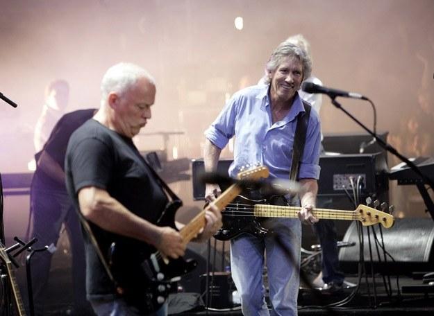 David Gilmour i Roger Waters razem podczas Live 8 w 2005 roku /Getty Images/Flash Press Media