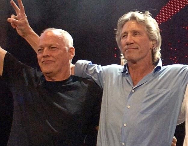 David Gilmour i Roger Waters szykują niespodziankę /arch. AFP