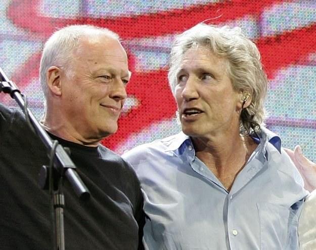 David Gilmour i Roger Waters znów razem na scenie fot. MJ Kim /Getty Images/Flash Press Media