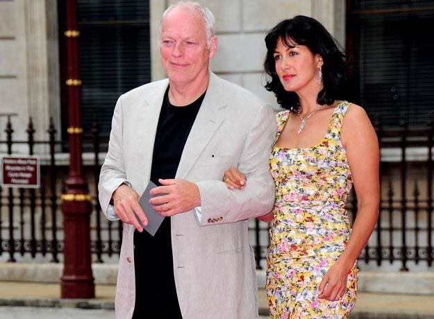 David Gilmour z żoną, Polly Samson (fot. Gareth Cattermole) /Getty Images
