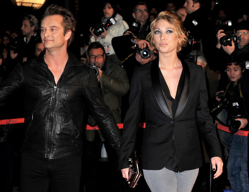 David Hallyday i Laure Smet / Pascal Le Segretain /Getty Images