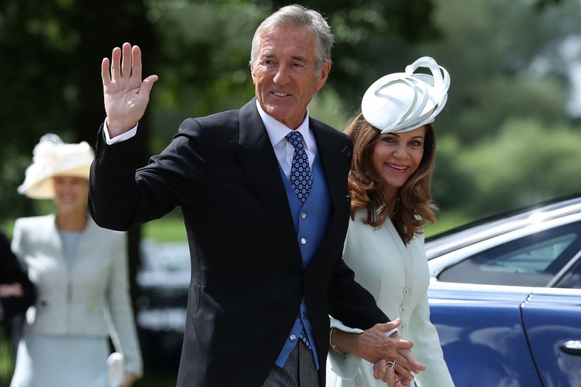 David Matthews jest ojcem Jamesa Matthewsa, męża Pippy Middleton /East News