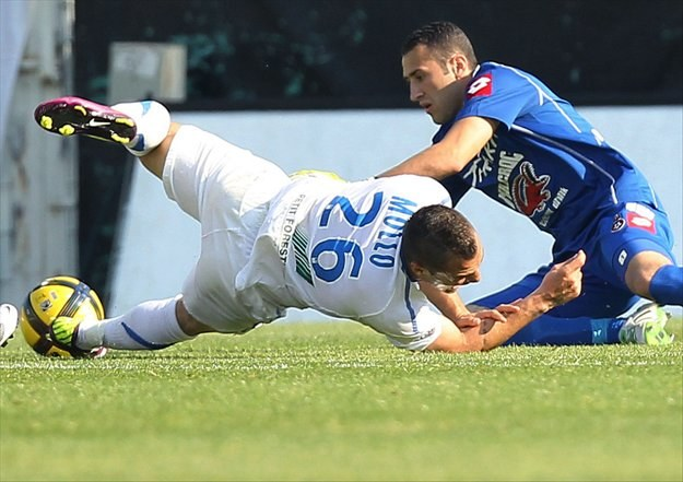 David Ospina (z prawej) może nie zagrać w turnieju Copa America /AFP