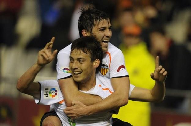 David Silva i David Villa mogą latem opuścić Valencię /AFP