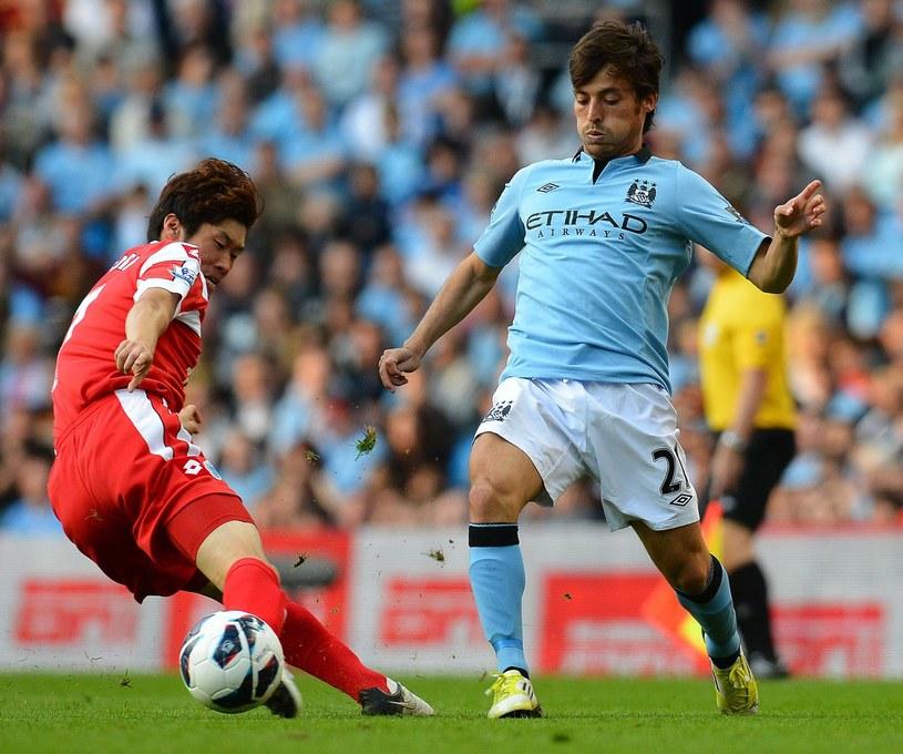David Silva przedłużył kontrakt z Manchesterem City do 2017 roku /AFP