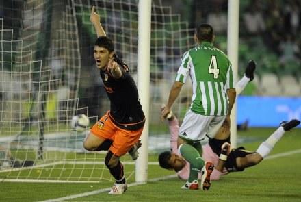 David Villa strzelił dwa gole Betisowi /AFP