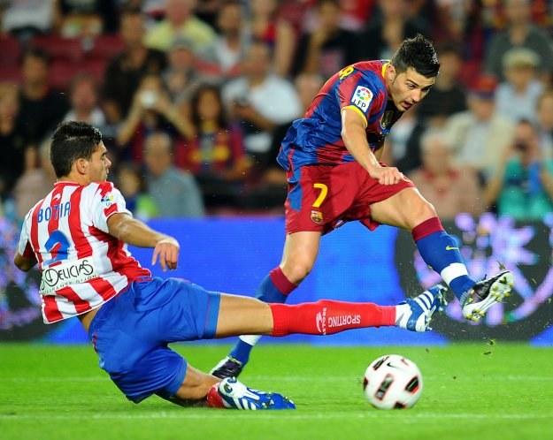 David Villa zdobył jedynego gola dla Barcelony /AFP
