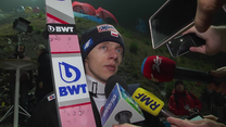 Dawid Kubacki po kwalifikacjach w Wiśle