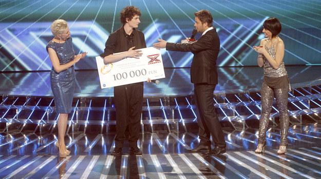 """Dawid Podsiadło zwycięzcą 2. edycji """"X Factor"""" /fot  /AKPA"""