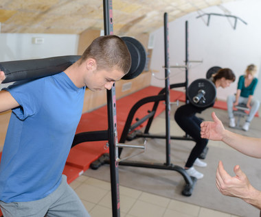 Dba o muskuły, a nie o oceny