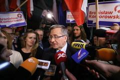 Debata Duda - Komorowski w obiektywie