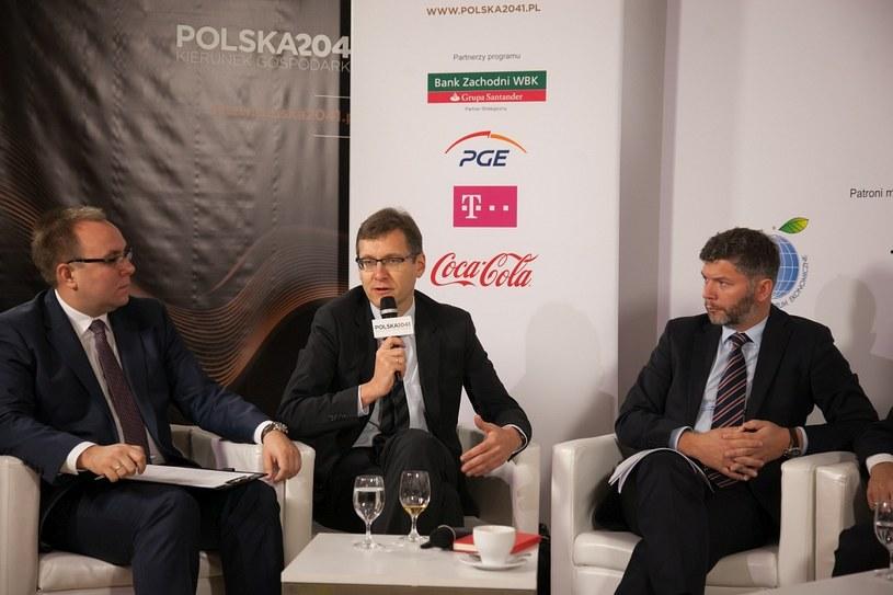 """Debata """"Inwestycje kluczem do rozwoju"""" /Ireneusz Rek /INTERIA.PL"""