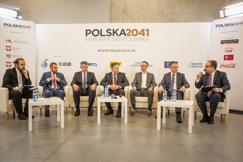 "Debata: ""Polska eksportowym tygrysem?"" /Ireneusz Rek /INTERIA.PL"