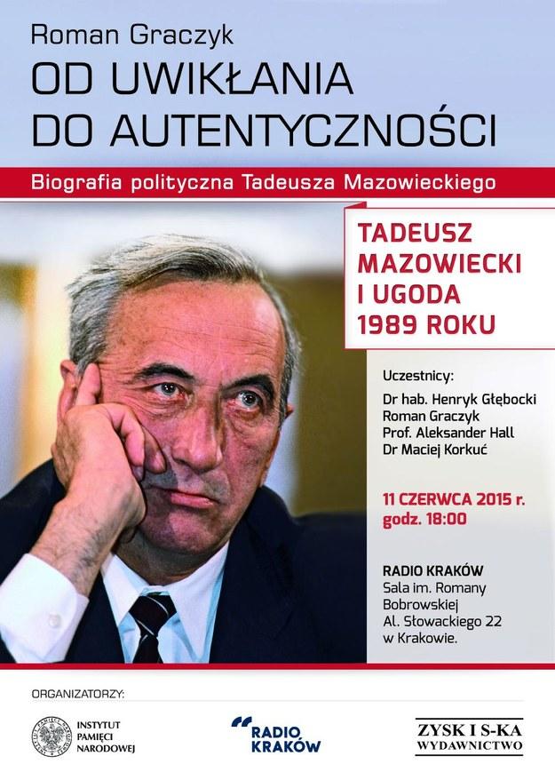 Debata: Tadeusz Mazowiecki i ugoda 1989 roku /materiały prasowe