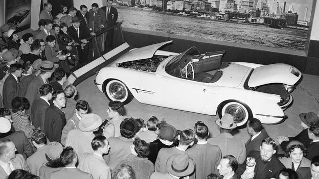 Debiut Chevroleta Corvette (C1) w Nowym Jorku /Chevrolet