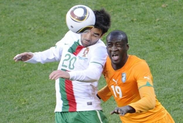 Deco nie zagra już w reprezentacji Portugalii /AFP