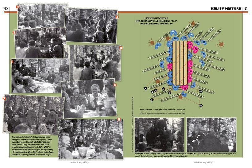 Decyzję o utworzeniu nowego szpitala w lesie podjęto na początku maja 1944 roku /Odkrywca