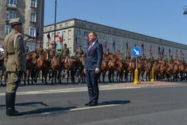 Defilada z okazji Święta Wojska Polskiego