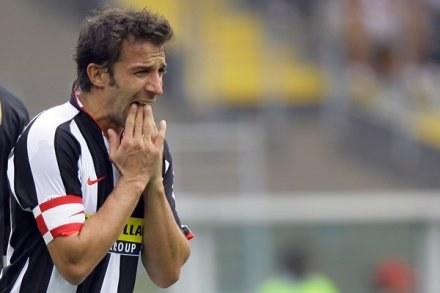 Del Piero opuści mecz z Interem /AFP