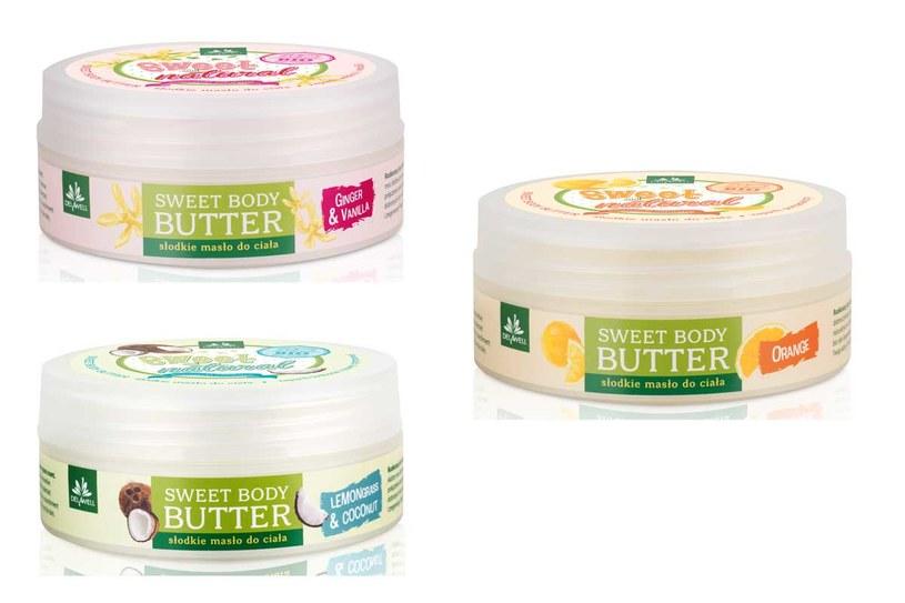 Delawell: Słodkie masła do ciała Sweet & Natural /materiały prasowe