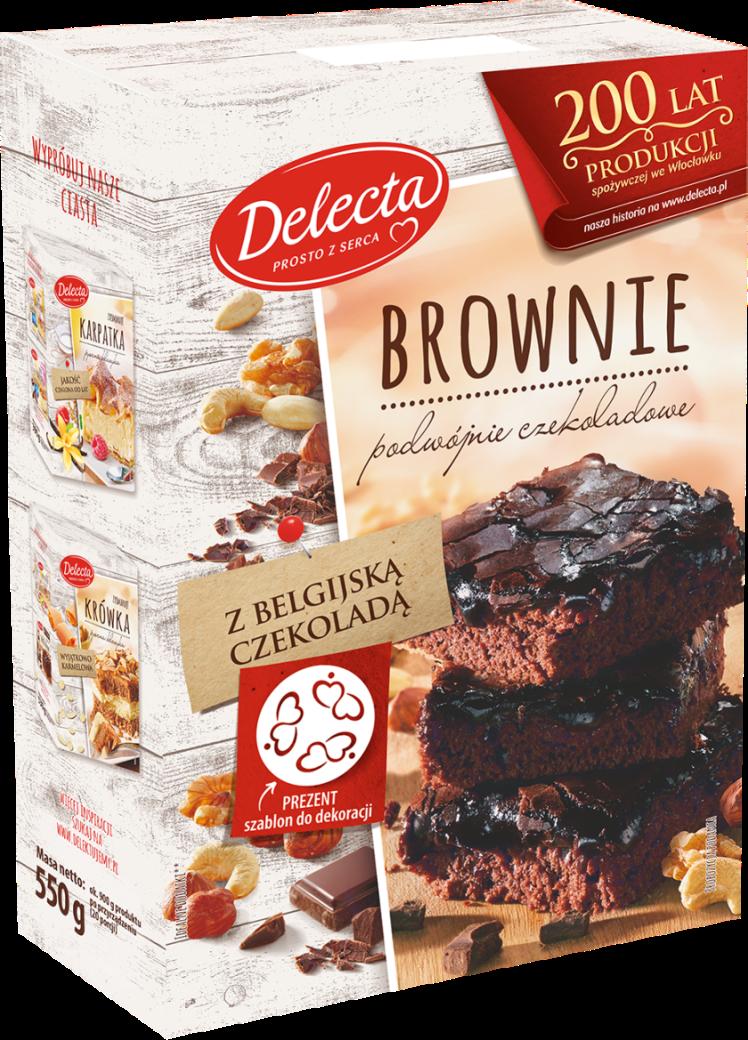 Delecta Brownie /materiały prasowe