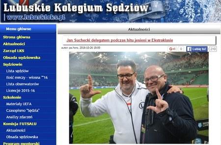 """Delegat PZPN pozował do zdjęcia z """"eLką"""""""