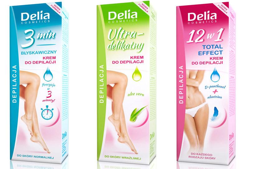 Delia Cosmetics: Kremy do depilacji /materiały prasowe