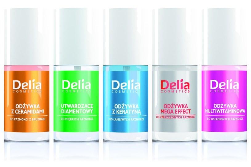 Delia Cosmetics, linia odżywek do paznokci /Styl.pl/materiały prasowe