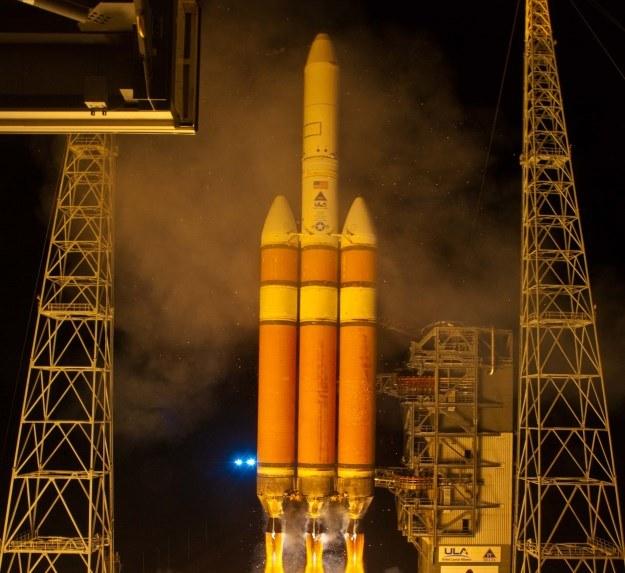 Delta IV - amerykańska rakieta nośna /AFP