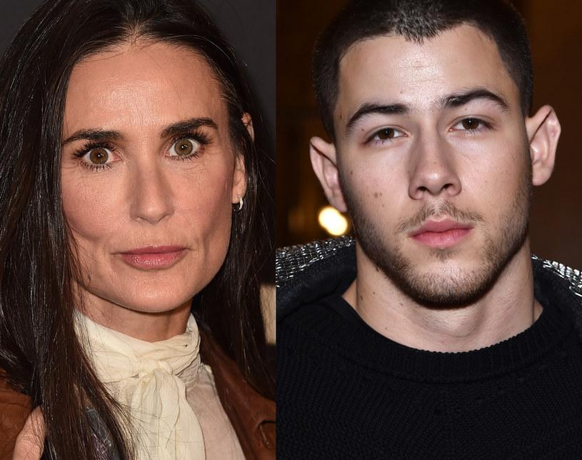Demi Moore i Nick Jonas /Alberto E. Rodriguez, Pascal Le Segretain /Getty Images