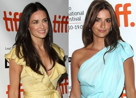 Demi Moore i Penelope Cruz /Getty Images/Flash Press Media